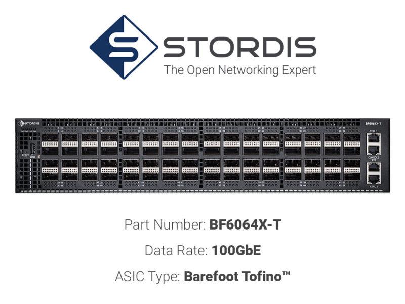 100GbE white box switch STORDIS BF6064X-T
