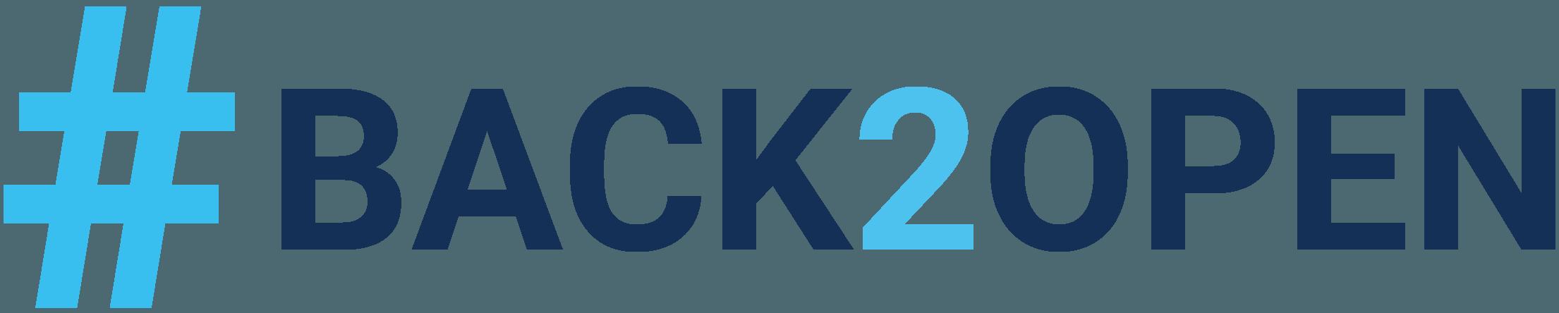 Back2Open Logo